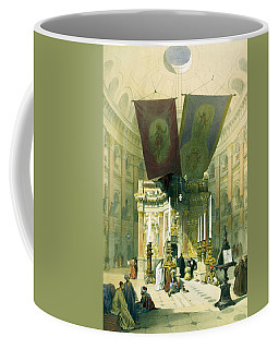 Shrine Of The Holy Sepulchre April 10th 1839 Coffee Mug