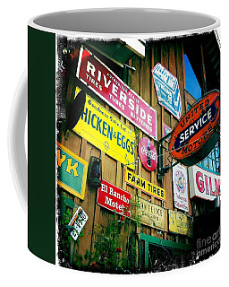 Coffee Mug featuring the photograph Signs Of A Great Place by Nina Prommer