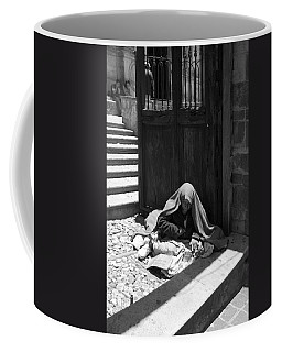 Silent Desperation Coffee Mug by Lynn Palmer