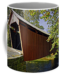 Simpson Creek Covered Bridge Coffee Mug