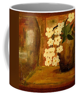Single Vase In Bloom Coffee Mug