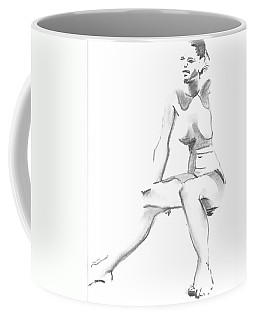 Sitting Coffee Mug