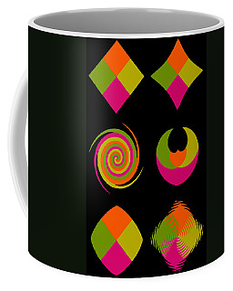Coffee Mug featuring the photograph Six Squared Collage by Steve Purnell