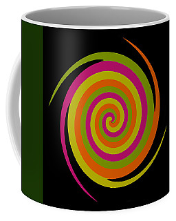 Coffee Mug featuring the photograph Six Squared With A Twirl by Steve Purnell