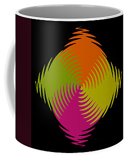 Coffee Mug featuring the photograph Six Squared Zigzag by Steve Purnell