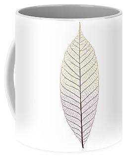 Skeleton Leaf Coffee Mug