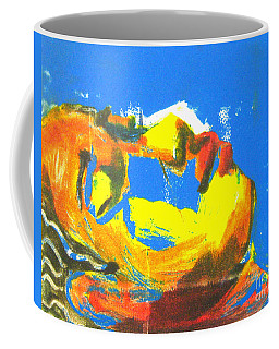 Coffee Mug featuring the painting Sleep by Gabrielle Wilson-Sealy