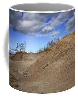Sleeping Bear Dunes Coffee Mug by Patrice Zinck