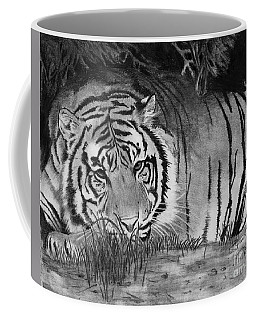 Sleepy Tiger Coffee Mug