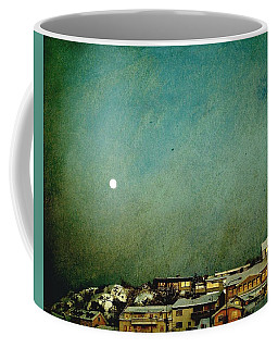 Sleepy Winter Town Coffee Mug