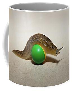 Slug On The Ball Coffee Mug