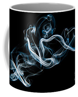 Coffee Mug featuring the photograph Smoke-2 by Larry Carr