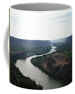 Coffee Mug featuring the photograph Snake River Mysteries by Rand Swift