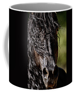 Snorting Good Looks Coffee Mug by Wes and Dotty Weber