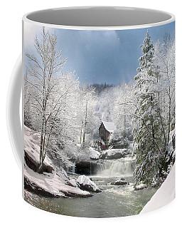 Snow At Babcock State Park Coffee Mug