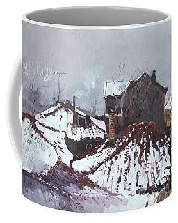 Snow In Elbasan Coffee Mug