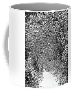 Snowy Path Coffee Mug by Linsey Williams