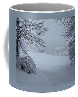 Snowy Path Coffee Mug