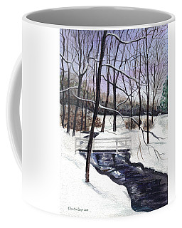 Snowy Shawnee Stream Coffee Mug