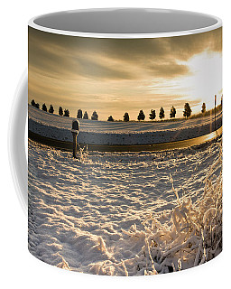 Snowy Sunrise Coffee Mug