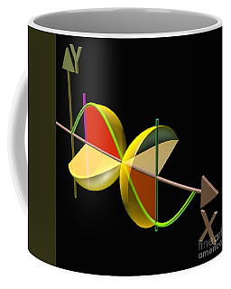 Coffee Mug featuring the digital art Solid Of Revolution 5 by Russell Kightley