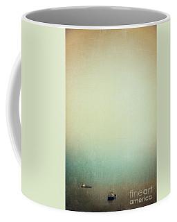 Solitary Ships Coffee Mug