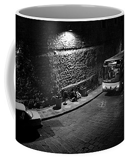 Solitary Wait Coffee Mug by Lynn Palmer