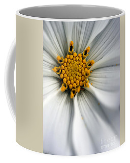 Coffee Mug featuring the photograph Sonata Cosmos White by Henrik Lehnerer