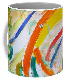 Coffee Mug featuring the painting Souls by Sonali Gangane