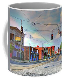 Coffee Mug featuring the photograph South Main Street Memphis by Lizi Beard-Ward