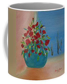 Coffee Mug featuring the painting Southwestern 1 by Judith Rhue