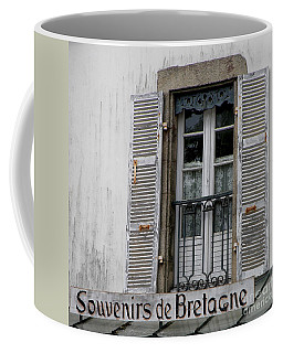 Coffee Mug featuring the photograph Souvenirs De Bretagne by Lainie Wrightson
