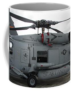 Spartans Coffee Mug by Randy J Heath