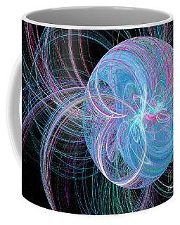 Coffee Mug featuring the digital art Spherical Symphony by Kim Sy Ok