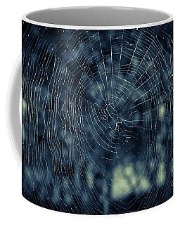 Coffee Mug featuring the photograph Spider Web by Matt Malloy
