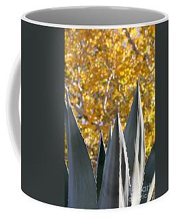 Spikes And Leaves Coffee Mug
