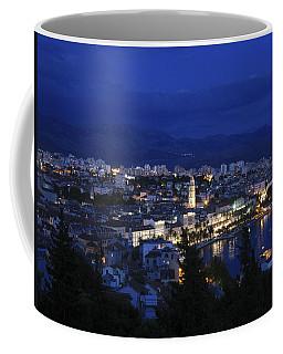 Coffee Mug featuring the photograph Split Croatia by David Gleeson
