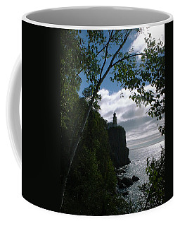 Coffee Mug featuring the photograph Split Rock II by Bonfire Photography
