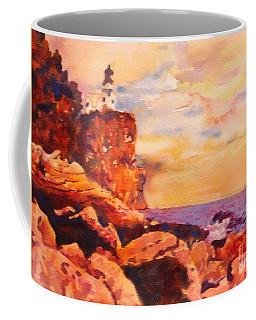Split Rocks Golden Memories       Coffee Mug by Kathy Braud