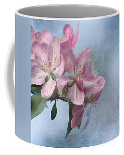 Coffee Mug featuring the photograph Spring Blossoms For The Cure by Kim Hojnacki