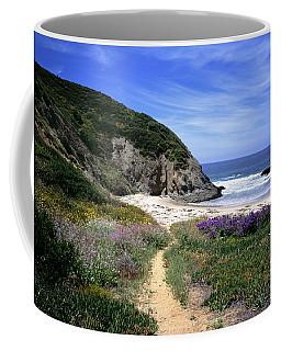 Springtime Trail  Dana Point Headlands Coffee Mug