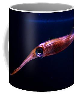 Squid In Pink Coffee Mug