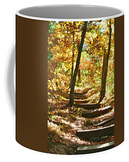 Coffee Mug featuring the photograph Stairway To Heaven by Peggy Franz