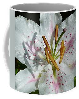 Coffee Mug featuring the photograph Stargazer Lily by Lynn Bolt
