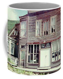 Coffee Mug featuring the photograph Stark Bros Store by Bonfire Photography