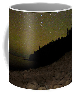 Stars Over Otter Cliffs Coffee Mug by Brent L Ander