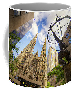 Statue And Spires Coffee Mug