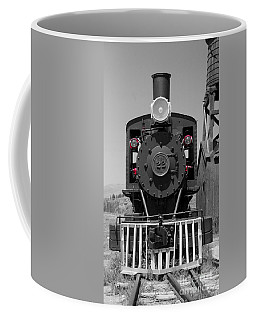 Coffee Mug featuring the photograph Steam Engine Train by Deniece Platt