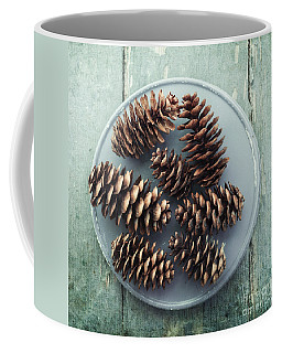 Stil Life With  Seven Pine Cones Coffee Mug