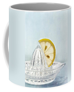 Still Life With A Half Slice Of Lemon Coffee Mug